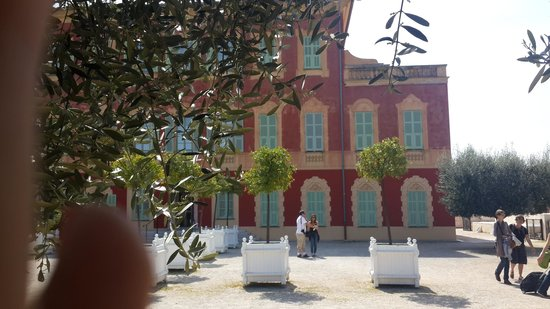 Musee Matisse: The villa