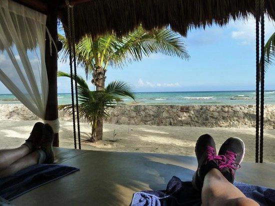 El Dorado Sensimar Riviera Maya: In the shade
