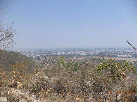 Sri Chamundeshwari Temple: Mysore city view