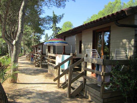 Vilanova Park: Chalet S600 extérieur