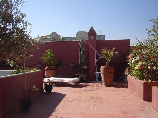 Riad L'Orchidee: La terrasse