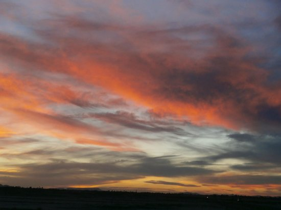 Moroccan Sahara : another very different sunset