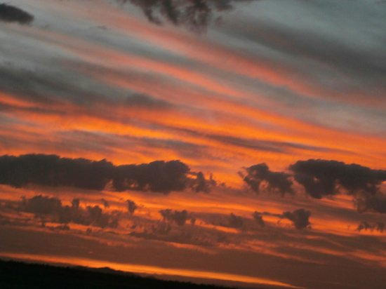 Moroccan Sahara : every evening different sunset,unbelievable