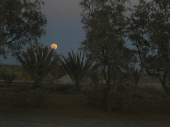 Moroccan Sahara : full moon