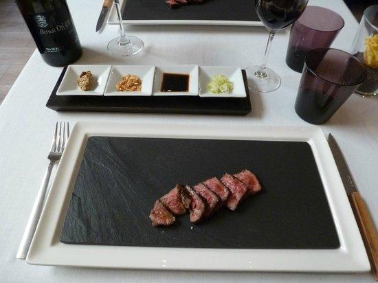 Restaurant Montiel: köstliches Wague-Beef