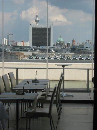Käfer Dach Garten Restaurant: Gepflegtes Ambiente
