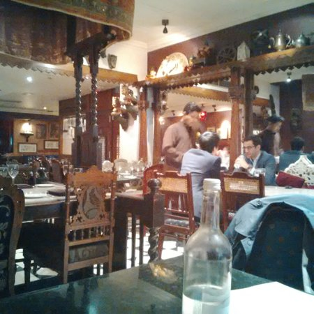 Chor Bizarre - India's Restaurant: photo quality Blackberry. sorry