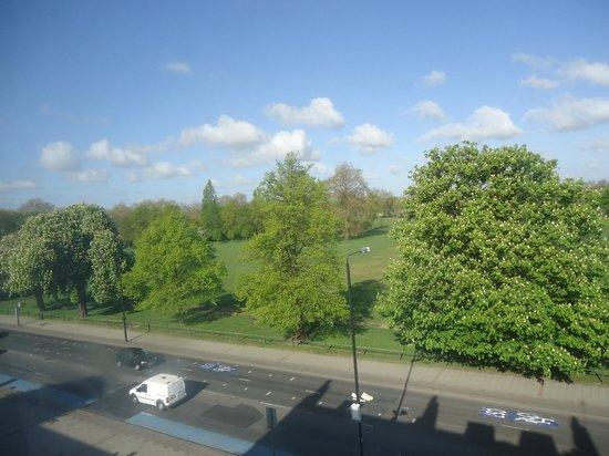 Euro Hotel Clapham: vista sul parco