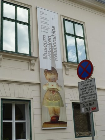 Museum of Broken Relationships : Entrée musée