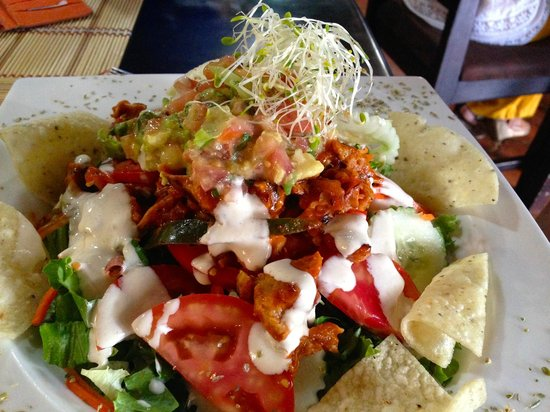 Mantras Veggie Cafe and Tea House: Mexican Salad