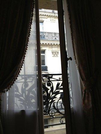 Normandy Hotel: вид из номера