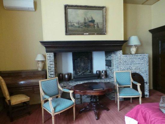 Hotel Martin's Relais: quarto que era antiga cozinha, não gostei e troquei