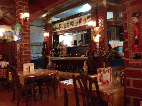 Lamuan Seafood Restaurant: Restaurant