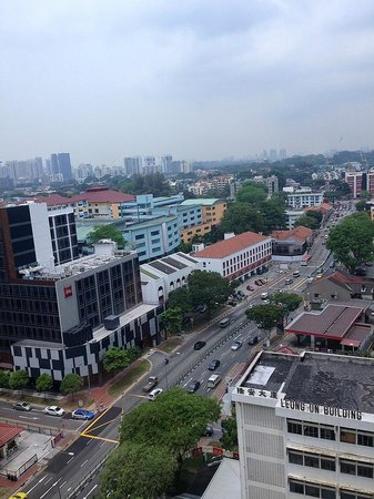 View from Ramada Singapore At Zhongshan Park