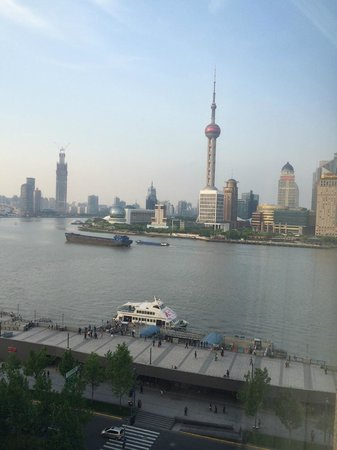 Les Suites Orient, Bund Shanghai: The view from our room