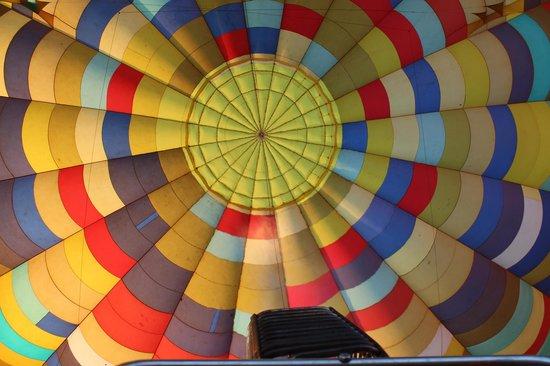 Bill Harrop's Original Balloon Safaris: Going up