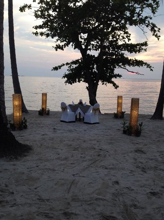 The Emerald Cove Koh Chang: Breeze dinner
