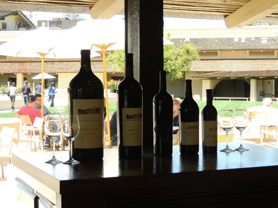 Robert Mondavi Winery: Bottles!