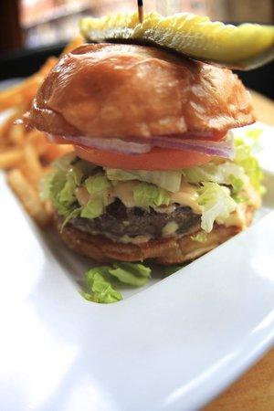 Base Camp Bar & Grill : Burger Piled High