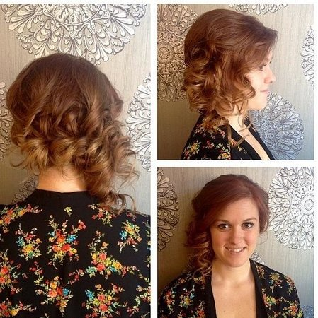 Partial Updo Wedding Hair Picture Of Mirror Mirror Salon Spa