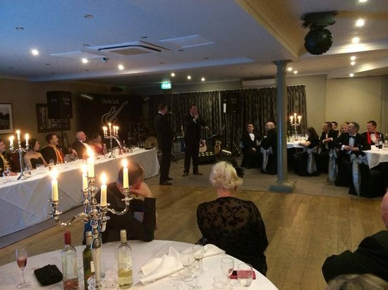 Cedars Inn: Comedian 'Martin Semple' in the function room
