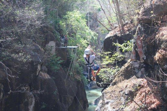 Rio Perdido: Part of zip-line tour