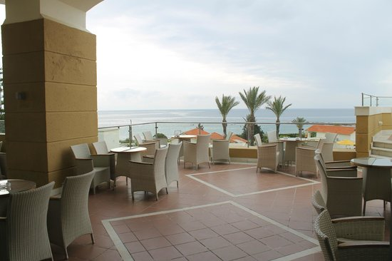 Mitsis Rodos Maris Resort & Spa: terrasse