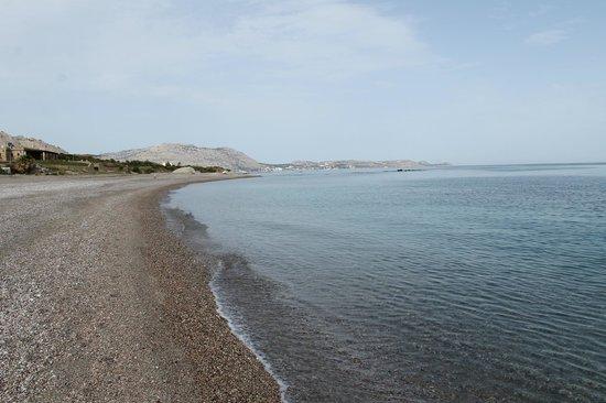 Mitsis Rodos Maris Resort & Spa: plage
