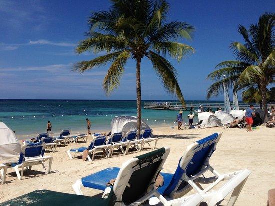 Beaches Ocho Rios Resort & Golf Club : View from my chair!