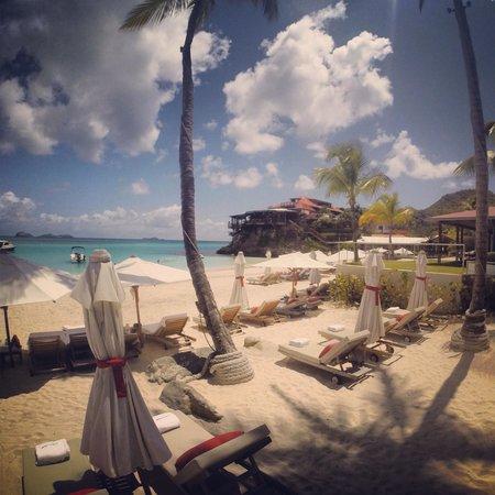 Eden Rock - St Barths: La spiaggia dell'albergo