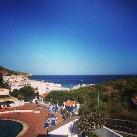 Salema Beach Club: View to the sea from apartment