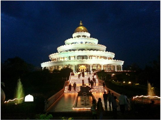 Art of Living International Center: main temple