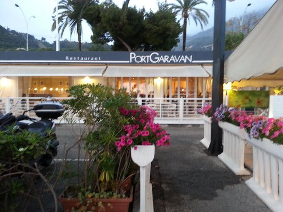 Port Garavan : il ristorante