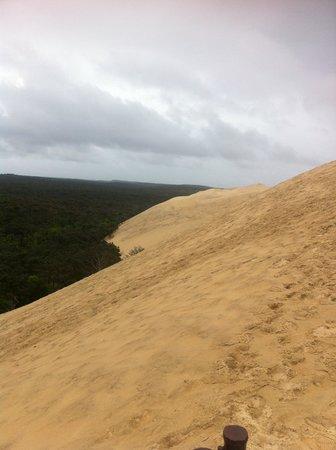 Dune du Pilat : vue latérale