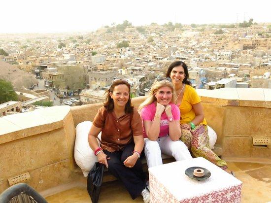 Hotel Killa Bhawan: At the terrace