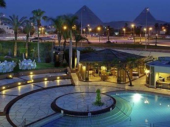 Mercure Cairo Le Sphinx : Impressionante a visão!!!!