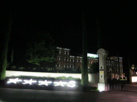 Savoia Hotel Regency : Ingresso trionfale