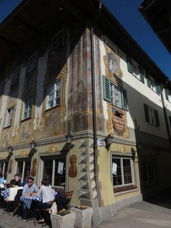 Die Alpenrose: Fachada