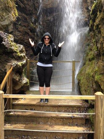Foxfire Mountain Adventures : Waterfall