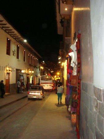 BEST WESTERN Los Andes De America: Vista da rua