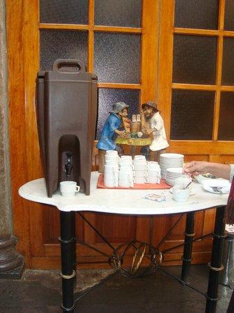 BEST WESTERN Los Andes De America: Welcome Coffee