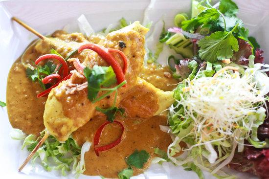 My Thai: Grilled chicken satay