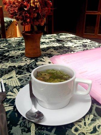 Los Andes De America Hotel : Welcome Coffee