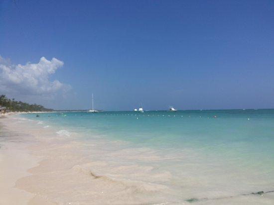 Vista Sol Punta Cana : Linda praia em frente ao hotel.