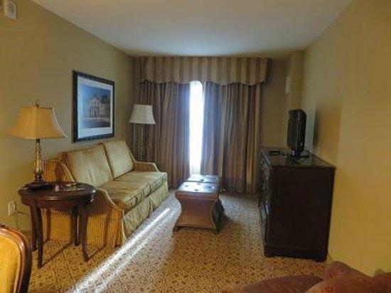 Embassy Suites by Hilton San Antonio Riverwalk-Downtown: リビング