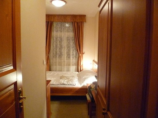 Hotel Liliova Prague Old Town: Camera piccola ma confortevole