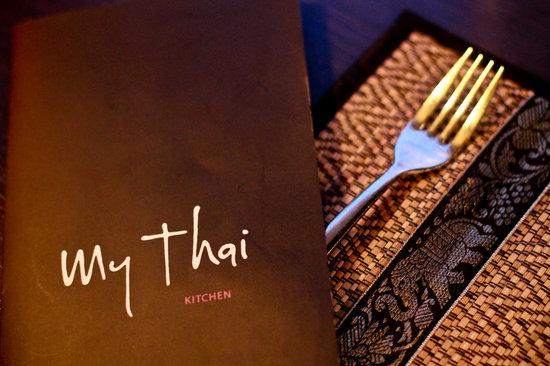 My Thai: Menu