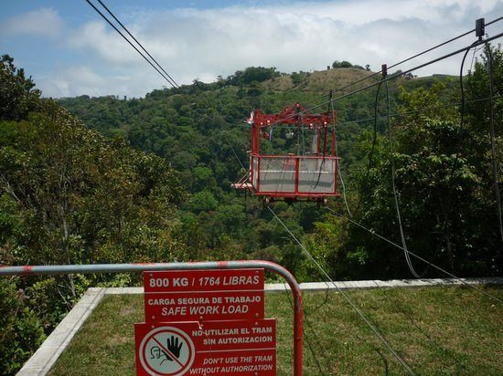 Monteverde Extremo Park: Station um hinauszufahren