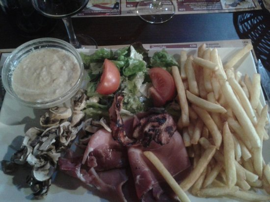 Fondue normande de tonton photo de restaurant oncle - Restaurant port saint louis du rhone ...