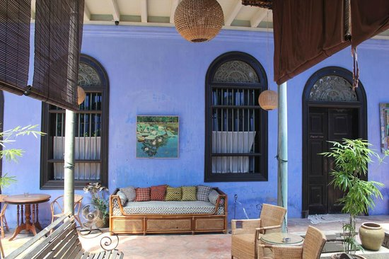 Cheong Fatt Tze - The Blue Mansion: ブルーの壁
